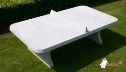 Betonnen tafeltennistafel
